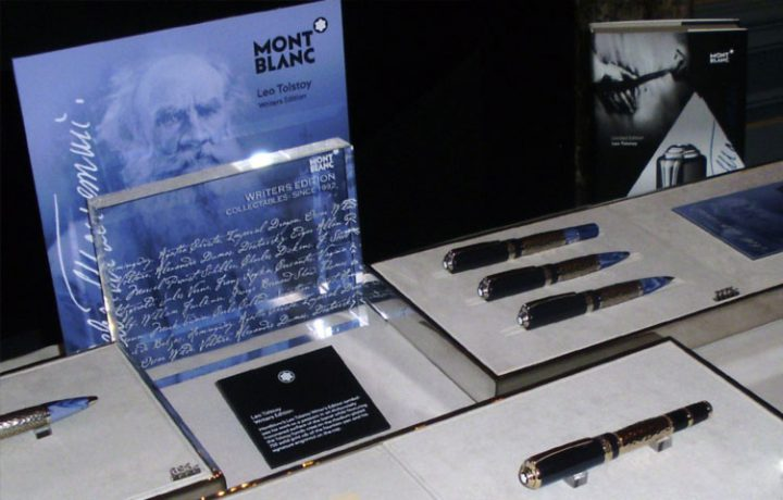 Leo Tolstoj Writers Edition schrijfinstrumenten