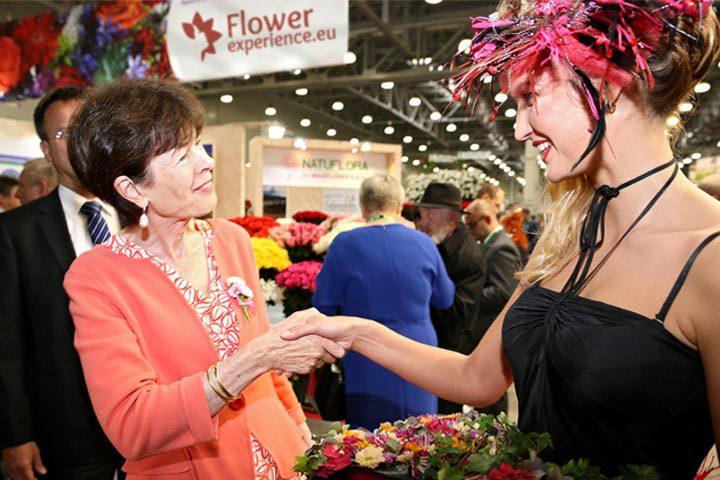 Sobolj op de Flowers Expo 2017 in Moskou